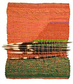 Six Quills, Sheila Hicks..OMG..this is soooo amazing! I would love to actually touch this...and look at it up close!