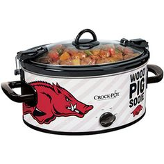 Razorback fans - get your Arkansas Crock-Pot available only at Walmart.com! Additional NCAA and NFL Teams available!