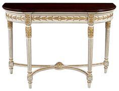 Louis J Solomon Louis XVI Console Table