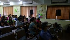 Teachers and students on e-database awareness programme