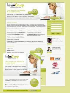 "Diseño de Landing page para la firma ""Belou"""