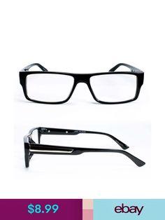 682e159fb7 Elite HUGE RETRO SHIELD Style Oversize Vintage Clear Lens Mens ...
