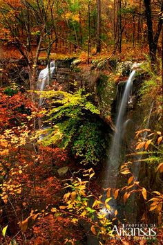 No better time than fall in Arkansas to plan a road trip across The Natural State.