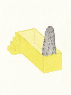 drawings by artist celine meyrat
