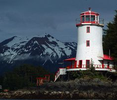 Rockwell Lighthouse, Sitka, Alaska Stayed here for a weekend years ago, very unique and relaxing getaway.