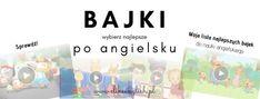 Bajki do nauki angielskiego dla dzieci | elikeenglish Curious George, Netflix, English, Map, Youtube, Kids, Children, English Language, Cards