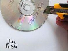 Risque pintura do CD Cd Diy, Old Cds, Cd Crafts, 7 Chakras, Yin Yang, Decoration, Art Nouveau, 3 D, Bohemian