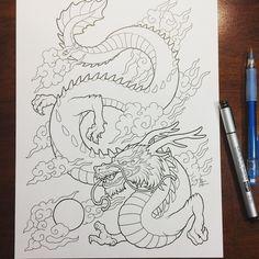 dragon chinese smaugust fantasyart fantasy