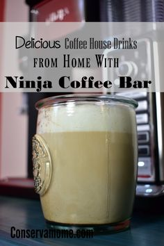 coffee bar ideas Are you looking for delicious coffee house drinks in the comfort of your own home? Check out why the Ninja Coffee Bar is a must have! Plus a delicious homemade Caramel Macchiato recipe at the end! Ninja Coffee Bar Recipes, Ninja Coffee Maker, Coffee Drink Recipes, Ninja Recipes, Coffee Drinks, Coffee Thermos, Best Coffee Maker, Ninja Bar, Caramel Macchiato Recipe