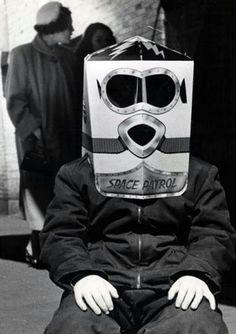space patrol, by weegee, 1957