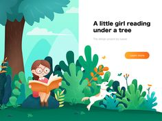Little girl and dog reading dog tree girl web illustration education tree tree illustration 663858801308514150 Art And Illustration, Graphic Design Illustration, Character Illustration, Animal Illustrations, Illustrations Posters, Web Design, Vector Design, Children's Book Characters, Buch Design