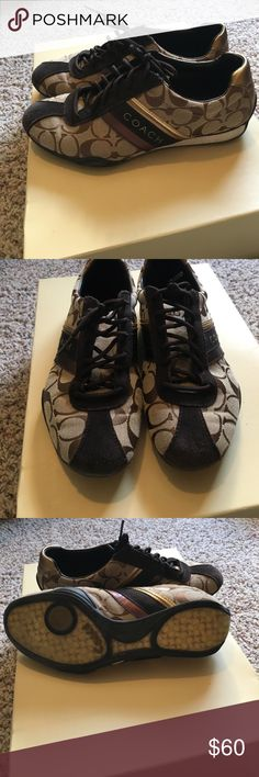 Coach sneaker Great condition and super comfortable Coach Shoes Sneakers