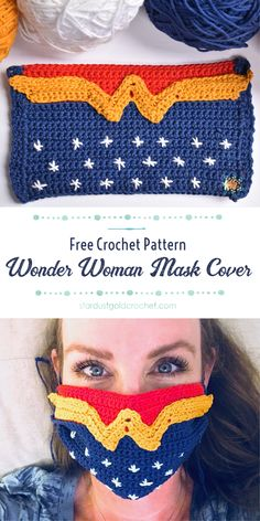 Easy Beginner Crochet Patterns, Crochet For Beginners, Easy Crochet, Crochet Hooks, Free Crochet, Knit Crochet, Crochet Mask, Crochet Faces, Crochet World