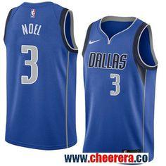 7ac76d65e Men s Nike Mavericks  3 Nerlens Noel Royal Nike New Swingman Icon Edition  Jersey Dallas Mavericks