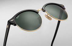 6b31440a9b Ray-Ban 0RB4246-CLUBROUND Black SUN Silhouette Sunglasses