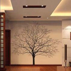 Big Tree Vinyl Wall Decal Nature Art Sticker T45 in Home & Garden, Home Décor, Wall Stickers | eBay