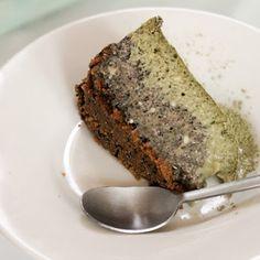 Matcha Murky Sesame Cheesecake