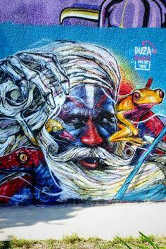Duza - street art - ivry-sur-seine, parc des Cornailles