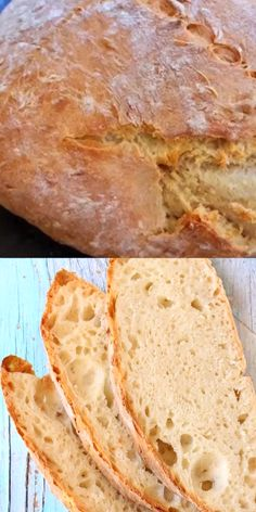Easy, crusty vegan bread made with only 3 ingredients: flour, water and instant yeast. Easy, crusty vegan bread made with only 3 ingredients: flour, water and instant yeast. Easy Vegan Bread Recipe, Bread Recipe Video, Easy Bread, Easiest Bread Recipe, Homemade Bread Easy Quick, Gluten Free Homemade Bread, Vegan Bread Machine Recipe, Batter Bread Recipe, Baguette