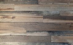 Reclaimed Oak Skip Planed Wall Paneling- mix of oak species that is skip planed Characteristics - blade marks, knots, minor holes ,colors range from dark brown to light brown Paneling comes in random widths 3 to 5 inches wide Paneling comes in random lengths 2 to 7 feet Paneling thickness .50 inch Kiln dried Panels are nylon brushed ,Back is surface planed, edges cut straight and ends cut square Can be installed horizontally , vertically, use your imagination​