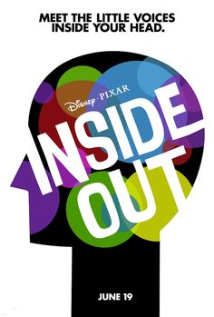 First ever poster for Pixar's Inside Out.