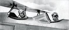 Anne flew solo for the first time, and in 1930 became the first American woman to earn a first class glider pilot's license. In the 1930s, Anne and Charles together explored and charted air routes between continents. The Lindberghs were the first to fly from Africa to South America, and explored polar air routes from North America to Asia and Europe.