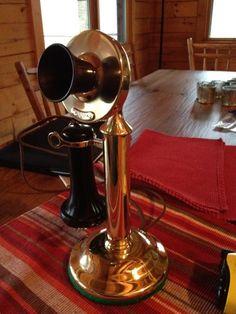 My restored candlestick telephone