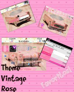 Theme Vintage Rose by TheVintageRose.deviantart.com on @deviantART