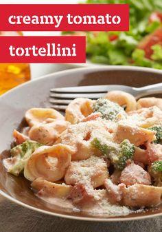 Creamy Tomato Tortellini