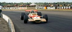 Ex-Graham Hill Lotus 49B at 2014 Bonhams Goodwood Festival of Speed