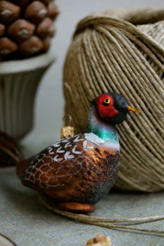 Caramel Shortbread, Pheasant, Christmas Decorations, Seasons, Bird, Sweet, Xmas, Common Pheasant, Christmas Decor