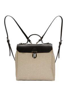 f7c2dac7a0b2 Hillside Urban Backpack in Black Natural-sold out by Jam Love London   Bags    Backpacks