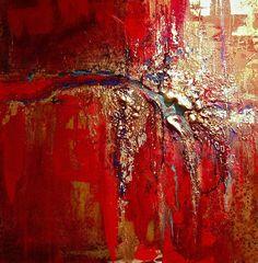Kimberly Pratt contemporary abstract textural paintings