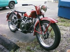 1956 Harley Davidson with Briggs and Stratton Vanguard Power.
