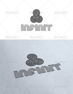 Infinit  Logo Design Template Vector #logotype Download it here: http://graphicriver.net/item/infinit-logo/2111686?s_rank=1721?ref=nexion