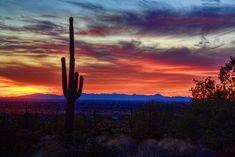 Arizona Desert Sunset | New Year's Sunset in Arizona