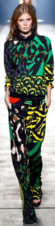 8149b223a40 Versace Spring 2016 RTW Versace Fashion