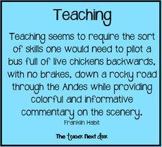 This is accurate! Find more teacher humor on The Teacher Next Door's Teacher Humor Board!