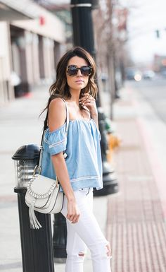 Cute off-the-shoulder tops