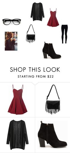 """""""Chirtmas"""" by evelyn-mendoza-1 on Polyvore featuring moda, Glamorous, Nly Shoes y NIKE"""