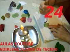 AULA 24: FOLHAS PARA ARRANJOS DE FLORES SEM FRISADOR (atendendo pedidos)