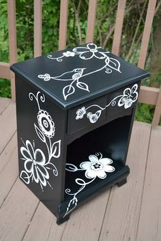 You're Art by Corie Kline: Black and White Furniture