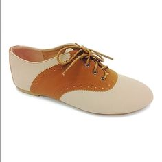 Oxford Flats Size 8 ModCloth Shoes Flats & Loafers
