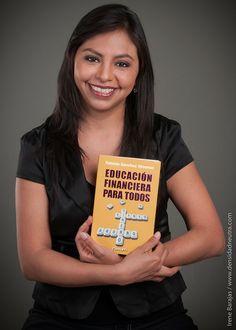 Fabiola Sánchez Almaraz, autora del libro Educación Financiera para Todos. www.fabiolasanchezalmaraz.com