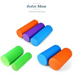 Cheap yoga block, Buy Quality massage blocks directly from China foam roller pilates Suppliers: 		3.93 Inches EVA Yoga Foam Roller Pilates Fitness Massage Block Physio Exercise Gym Cure Multi Color Yoga Block 30 x 10