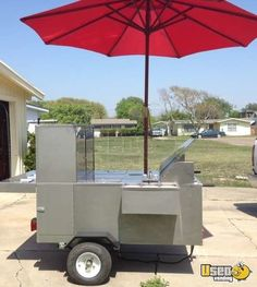 ae77c2413e3 2014 - Stainless Towable Hot Dog Cart for Sale in Texas