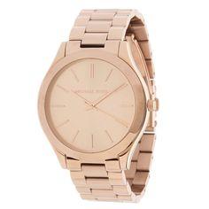 0e0db44c39b8 Amazon.com  Michael Kors Women s Runway Rose Gold-Tone Watch MK3197  Michael  Kors  Watches