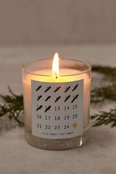 Holiday Countdown Candle - Urban Outfitters