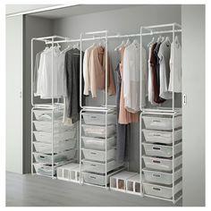 die besten 25 offener kleiderschrank stange ideen auf pinterest schuhschrank offen pax. Black Bedroom Furniture Sets. Home Design Ideas