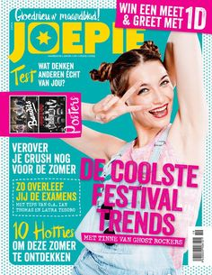 Cover Design Joepie magazine